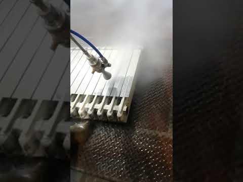 Sverniciatura ad acqua di termosifoni domestici