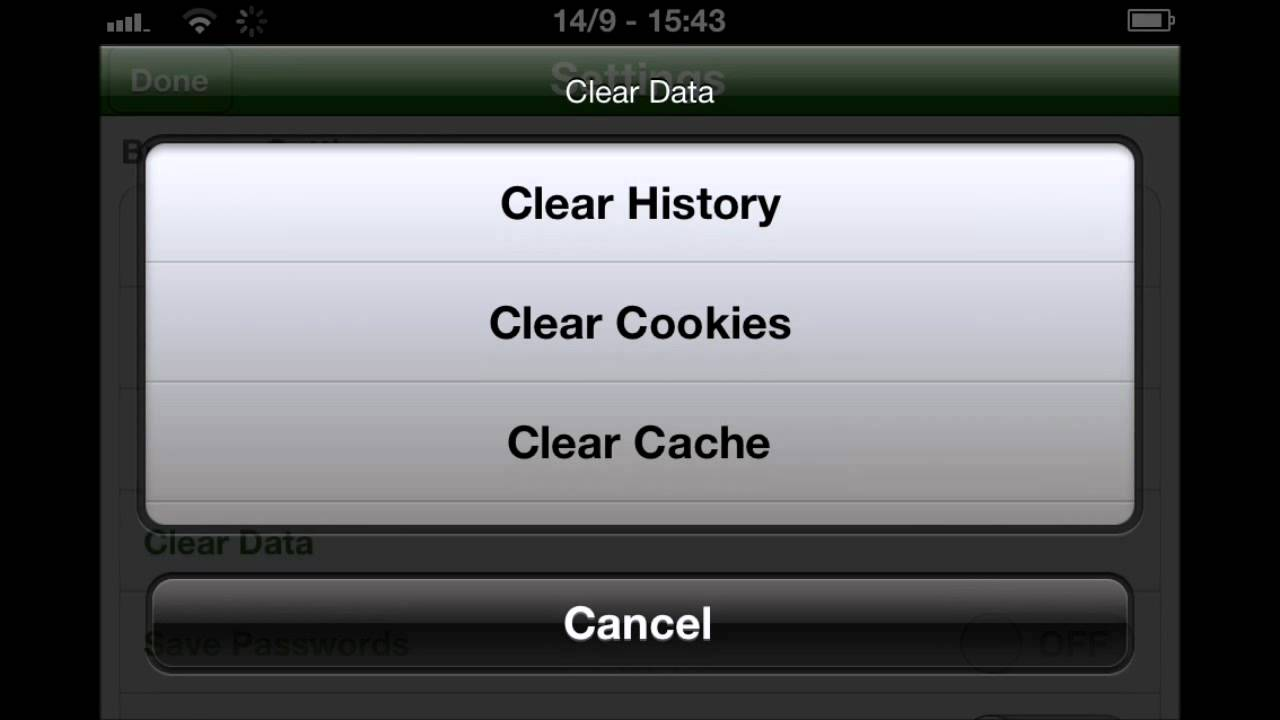 clear cookies on iphone how to delete cookies on iphone browsers 3465