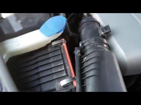 Ауди Ку 7 замена воздушного фильтра