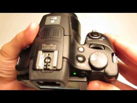 Setting up the Canon PowerShot SX60 HS for Photography