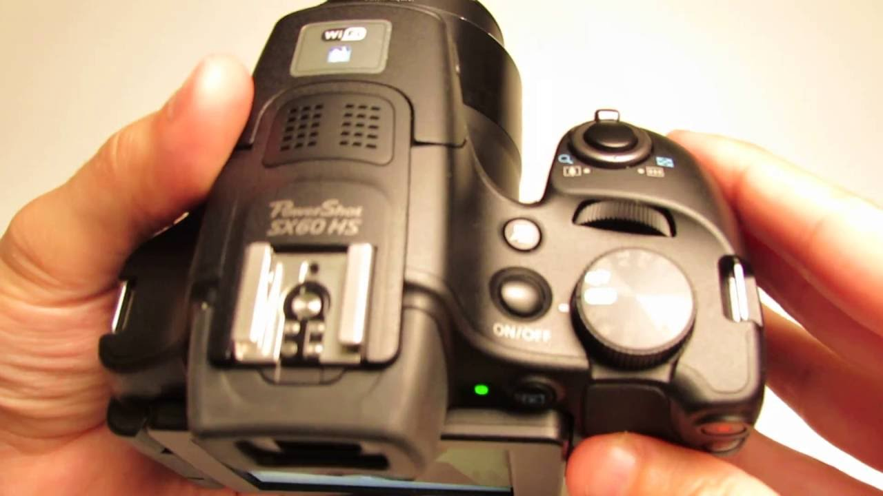 setting up the canon powershot sx60 hs for photography youtube