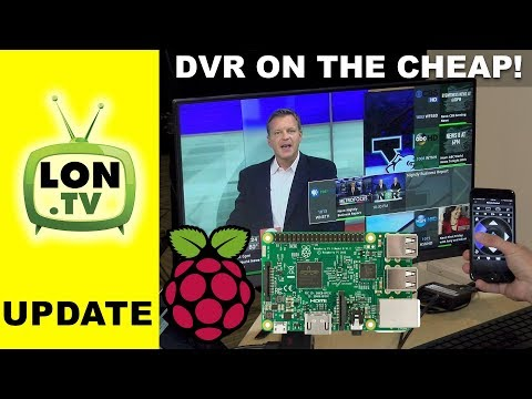 Live TV & DVR on the Raspberry Pi & HDhomerun! Cord Cutting