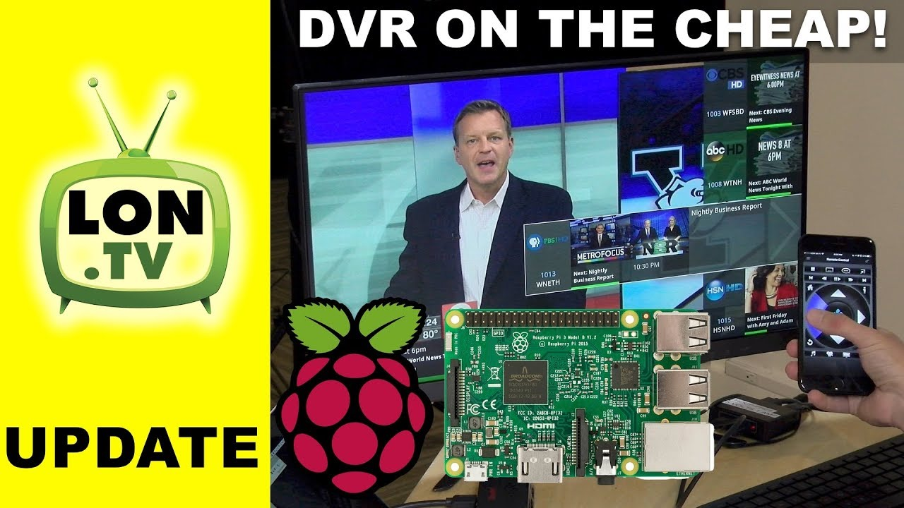 Live TV & DVR on the Raspberry Pi & HDhomerun! Cord Cutting DVR Project  Part 3