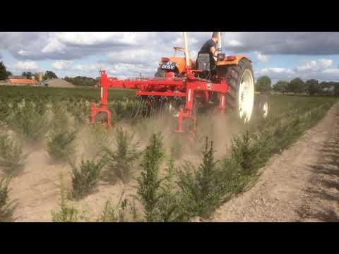 Machines op demodag boomkwekerij 2019