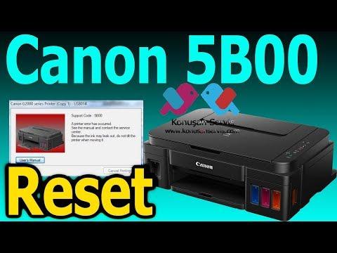 Canon 5B00   G2400 Reset Nasıl Yapılır   Konusan Servis   Bölüm. 532.  4K Izle