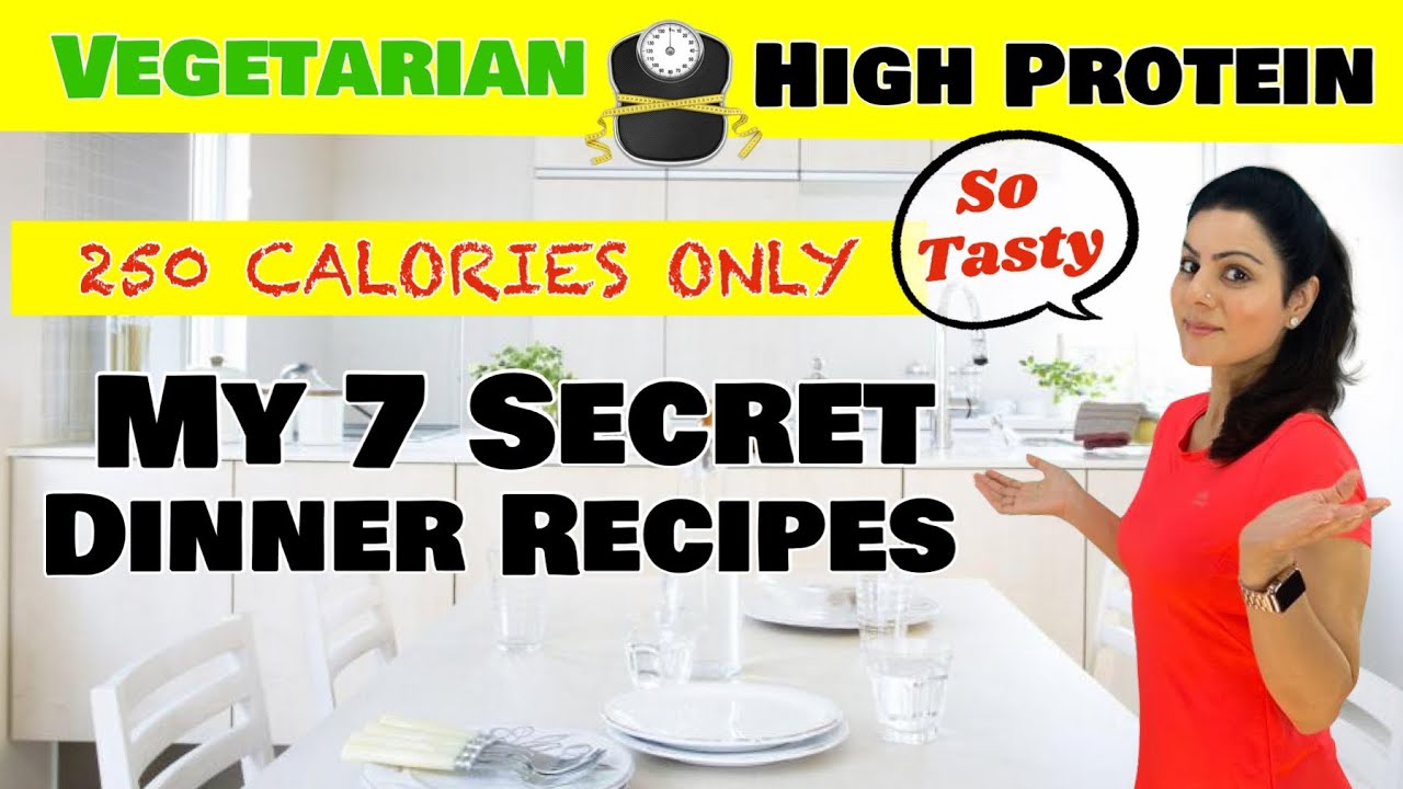 Dinner Recipes I had For My Weight Loss    My 7 Light Vegetarian Dinner Recipes For Weight loss