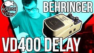 Behringer VD400 Vintage Delay Demo | Mr Dependable