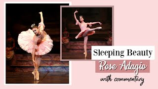 Sleeping Beauty ROSE ADAGIO with Ballet Commentary | Kathryn Morgan