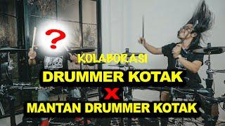 DUET DRUMMER KOTAK FT. MANTAN ADDITIONAL DRUMMER KOTAK !! Rock N Love - Tendangan dari Langit