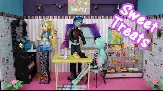 How To Make Sweet Treats Doll Bakery Custom Playset
