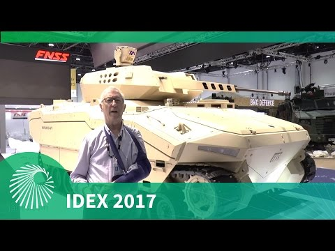 IDEX 2017: FNSS Kaplan NG-AFV