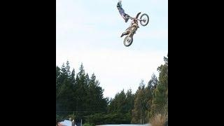 Jesse Dobias FMX Double Grab Indy Double  Nac at Koarse Ranch Dunedin New Zealand