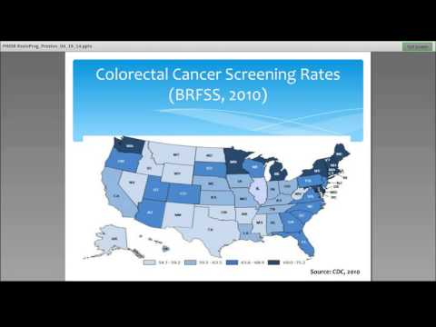 Health Care Reform: Colorectal Cancer Screening Expansion and Health Disparities
