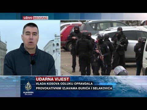 Goranović o hapšenju Marka Đurića na Kosovu