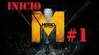 Metro Last Light Gameplay Walkthrough español Xbox360 | Primeros momentos HD AVI Parte 1