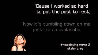 [Lyric] Back From The Dead - Skylar Grey ft Big Sean, Travis Barker - nguyenchauthuan