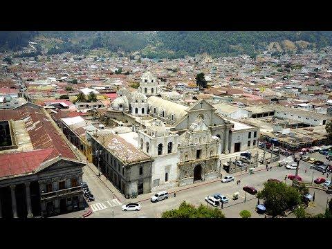 CINEMATIC DRONE FOOTAGE OF QUETZALTENANGO (XELA) GUATEMALA