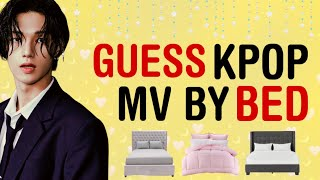 KPOP GAMES | GUESS KPOP MV BY THE BED