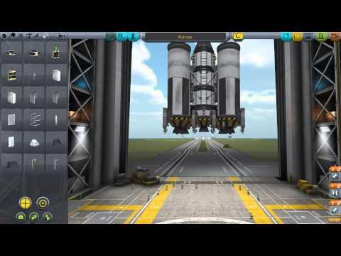 KSP v0.23.5 прохождение. Серия 13. Ракета для полёта на луну и мимус.