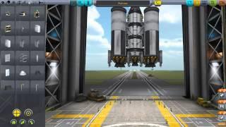 KSP v0.23.5 прохождение. Серия 13. Ракета для полёта на луну и мимус.(При постройке этой ракеты я использовал все научные модули, а так же новые двигатели добавленные в последне..., 2014-05-17T10:27:38.000Z)