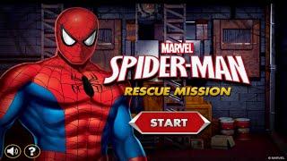 Marvel Spider-Man Rescue Mission Gameplay Episode | Best Kid Games | Spiderman Games