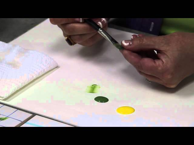 DecoArt® Come Paint With Us! Tutorials: Floating