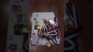мои медали и грамоты