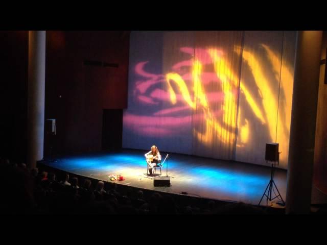 Эстас Тонне. Московский международный Дом музыки. 24.10.2014