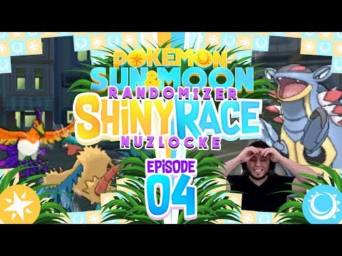 IS IT OVER? ALREADY?!! Pokemon Sun and Moon Randomizer Shiny Race Nuzlocke w/ MandJTV! Episode 4