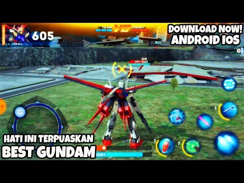 GAME GUNDAM TERBAIK ANDROID IOS!! MOBILE SUIT GUNDAM BATTLE Gameplay PVP Mode