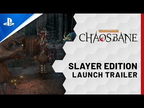 Warhammer: Chaosbane - Slayer Edition - Launch Trailer | PS5, PS4