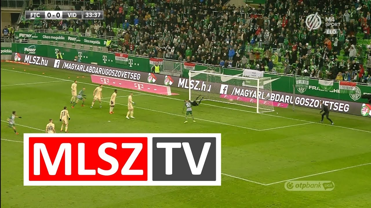 Spirovski Stefan gólja a Ferencvárosi TC - Videoton FC mérkőzésen