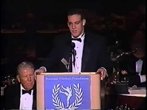 Thomas D Burns (Virginia) - 1993 Campbell Trophy Speech