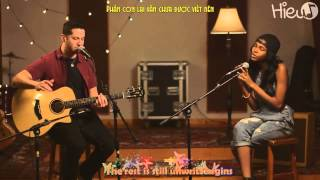 Unwritten - Natasha Bedingfield (Boyce Avenue ft. Diamond White acoustic cover)    Lyrics + Vietsub