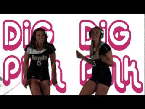 Notre Dame Volleyball - Dig Pink Karaoke (Oct. 23)