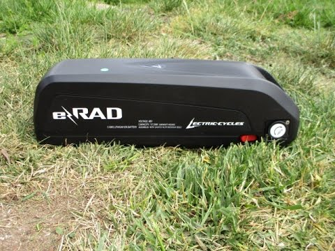 E Rad E Bike Battery 48 Volt 17 5 Ah Fresh For The