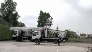 Telescopic truck-mounted platform B-LIFT