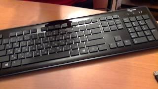 две клавиатуры Gembird KB-6250LU-BL-RUA
