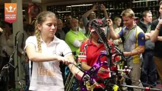 Проверка точности стрельбы из лука   Nerves of Steel 2015   Kings of Archery