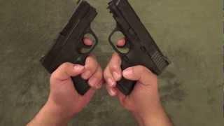 Smith & Wesson M&P Shield vs M&P Compact
