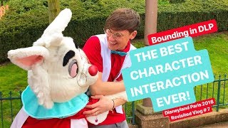 Vlog #7 | BEST CHARACTER INTERACTION EVER! Disney Bounding in DLP | Disneyland Paris Revisited 2018