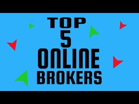 Top 5 Online Brokers - Best Demo Online Trading Softwares For Trading Stocks