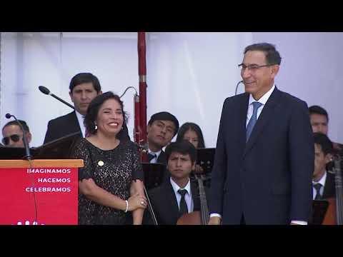 Presidente Martín Vizcarra lidera el lanzamiento de la agenda Bicentenario desde Huamanga Ayacucho