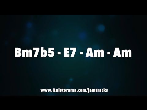 Minor 2-5-1 Jazz Practice Backing Track - 12 Keys In 30 Minutes!