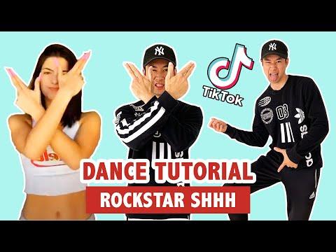 ROCKSTAR DANCE (TUTORIAL) | TIK TOK DANCE
