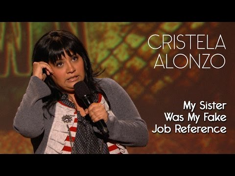 You Ever Lie So Much On A Resume They Gave You The Job?  Cristela Alonzo