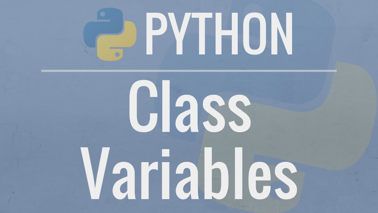 Python OOP Tutorial : Class Variables