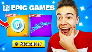 Unlock 1200 V-BUCKS or a FREE PLANEUR on Fortnite! 😁