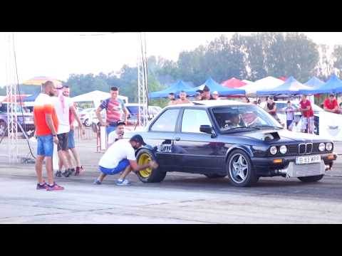 BMW E30 3.2 TURBO 857HP WPP vs GOLF 4 TURBO