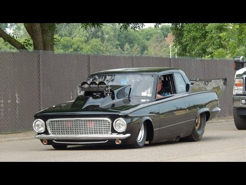 Old Mopar Drag Cars